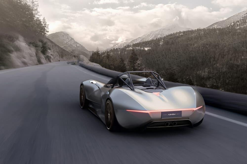 Camal Studio Aznom SerpaS Sports Car Renders 2017 December