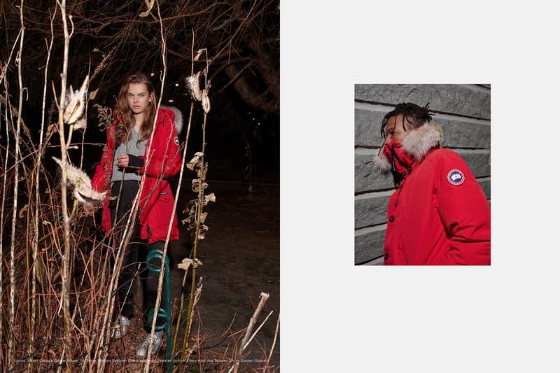 Canada Goose LOIT Editorial 2017 Fall Winter Lookbook Jackets outwear coats parkas