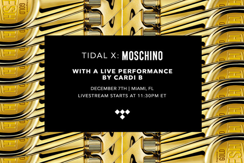 TIDAL x Moschino Cardi B Live Performance