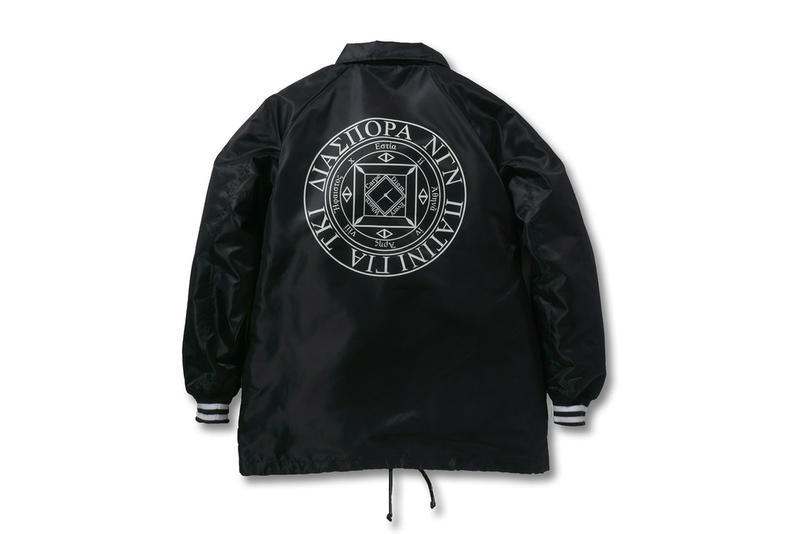 Castle Rock Diaspora Skateboards Coaches Jacket Black 2017 December Release Date Info Collaboration