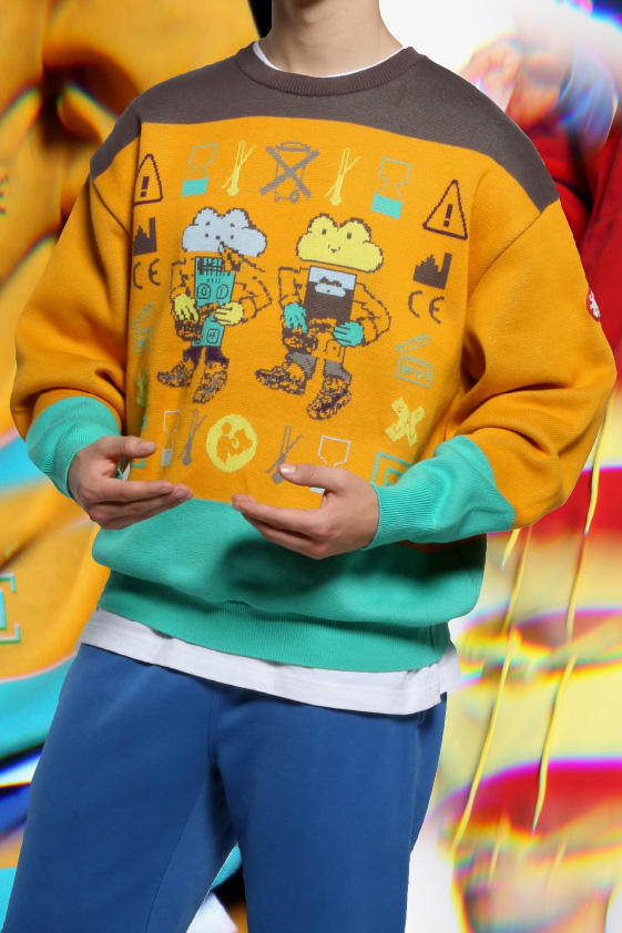 Cav Empt Spring/Summer 2018 Lookbook jacket all-ove print fleece backpcks graphic print shorts trousers pants