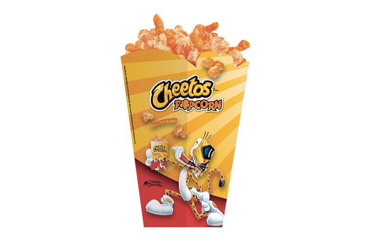 dc911e097ca9 Cheetos Popcorn Looks to Transcend Your Movie Theater-Watching Experience
