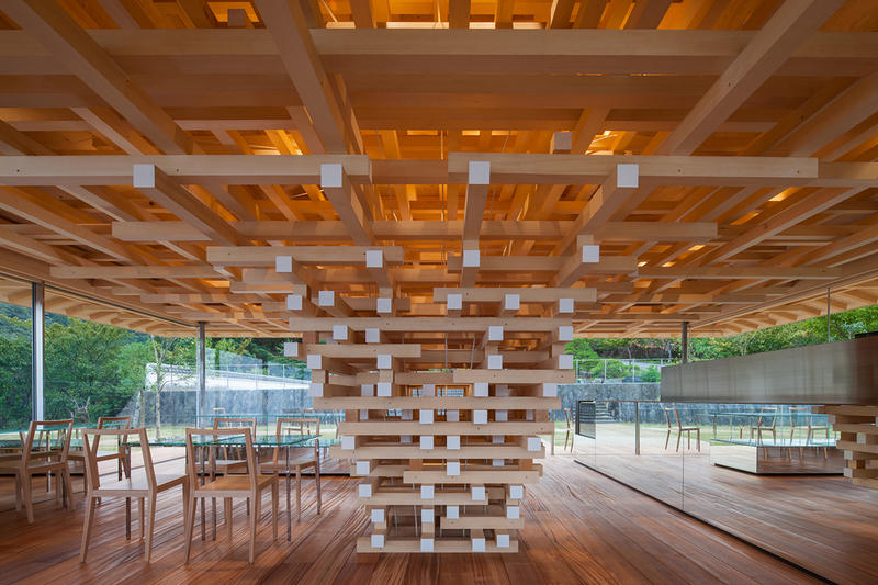 Coeda House Shizuoka Japan Kengo Kuma Architecture Firm Cafe Earthquake Proof Residence