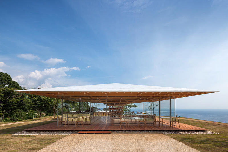 Coeda House Shizuoka Japan Kengo Kuma Architecture Firm Cafe Earthquake Proof Residence