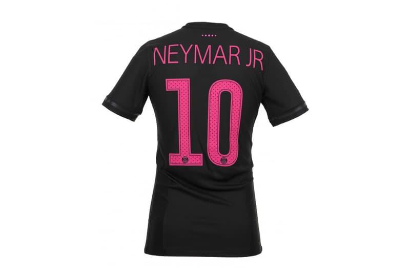 colette Paris Saint Germain FC Nike Jersey Collaboration set pair blue pink drop release close final official