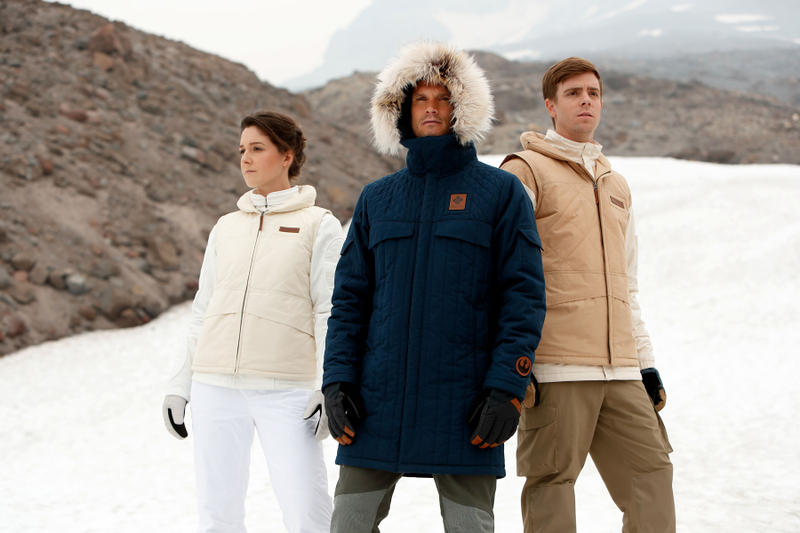 Columbia Sportswear Star Wars Echo Base Collection December 8 2017 Release Date