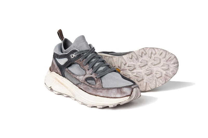 Brandblack Commonwealth Aura Disruption 2018 Collab Vibram Leather Distressed