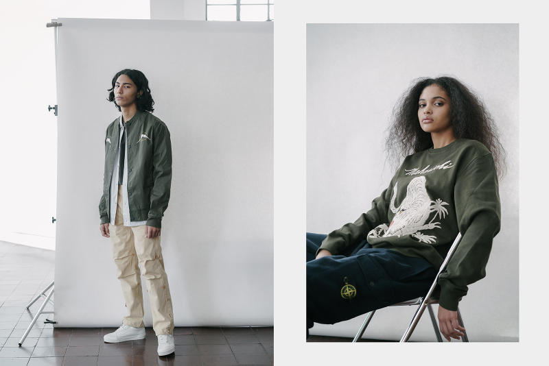Commonwealth Fall Winter 2017 Lookbook Editorial Stone Island A.P.C. Wacko Maria DIME DENIM BY VANQUISH & FRAGMENT New Balance NEIGHBORHOOD