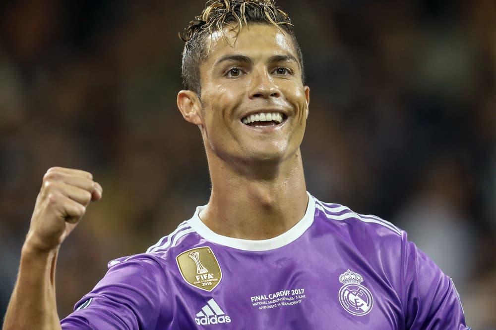 Cristiano Ronaldo Wins 2017 Ballon d Or Fifth Best Player World Soccer Football Neymar Jr Modric Buffon