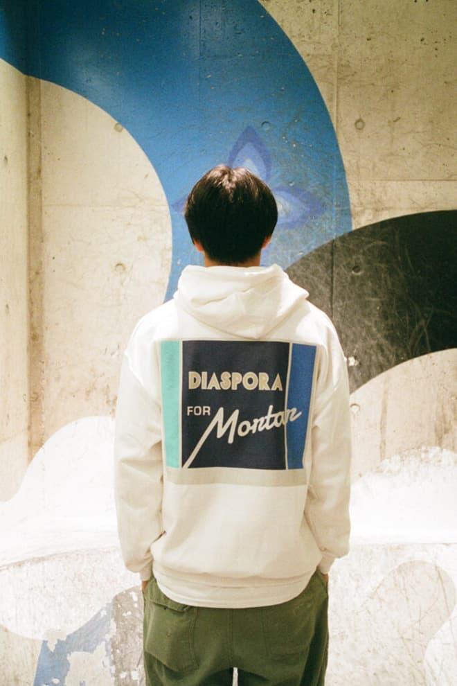 Diaspora Skateboards Mortar Tokyo Collaboration 2017 Winter December Release Date Info T Shirt Tee Hoodie Sweatshirt Hat Cap lookbook