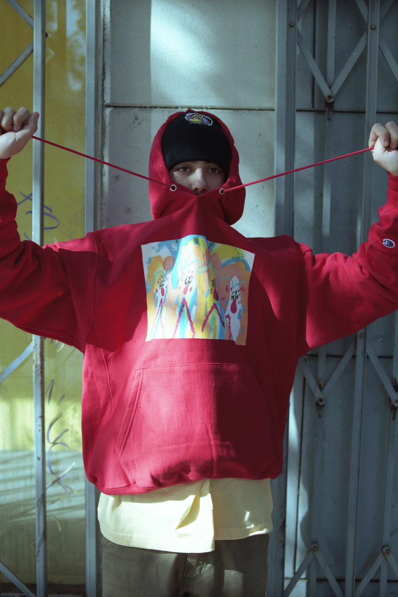 DIVINITIES bend Tokyo SHINKNOWNSUKE LA Exhibition Lookbook Hoodies Tees Shirts