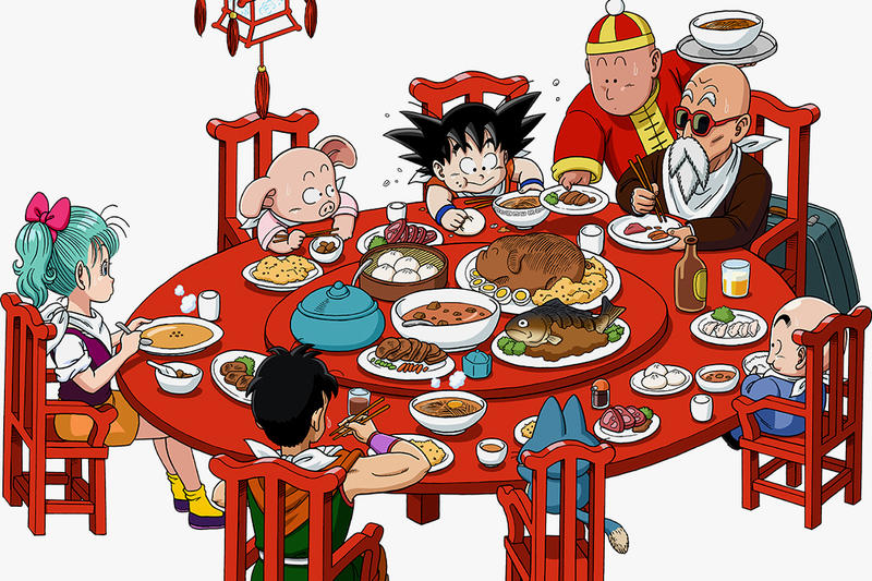 Dragon Ball Cafe and Diner Osaka Japan Open Dragonball Z 2017 December January 31 2018 Limited Time Exclusive Merch Food