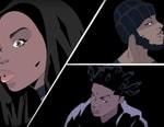 "Dreezy ""Spar"" With 6LACK & Kodak Black Gets Animated Visuals"