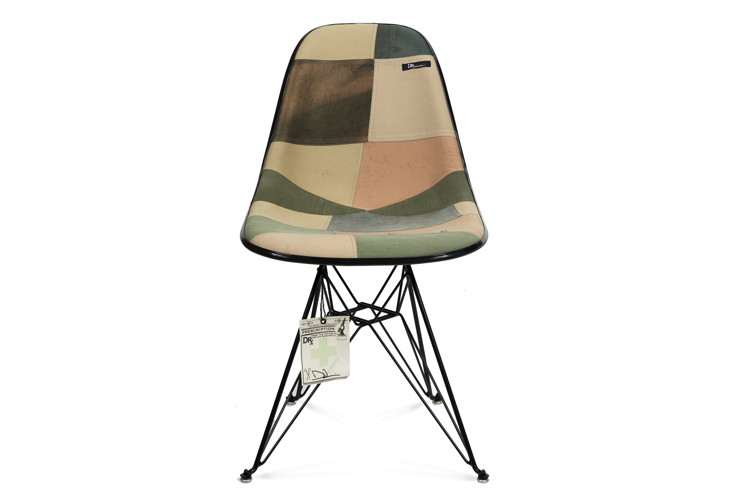 Modernica U0026 DRx Romanelli Release Vintage Military Chair Collection Case  Study Side Shell Eiffel Chair