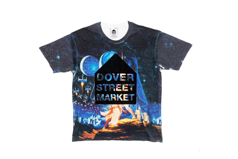 Dover Street Market Debuts Vintage Holiday Tees star wars darth vader gift guide t-shirts empire night before christmas jack skellington character shirts DSMNY streetwear new york