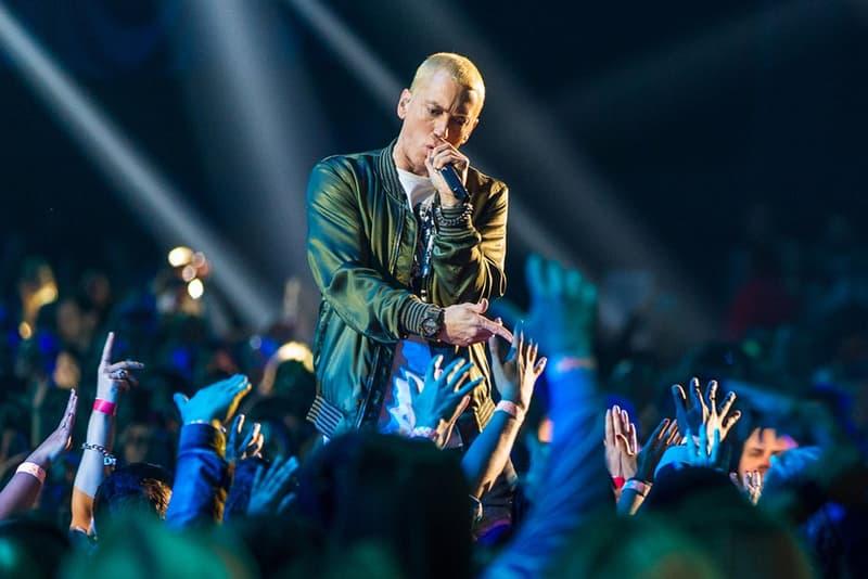 Eminem BBC Radio 1 Live Performance Video Revival Detroit Slim Shady