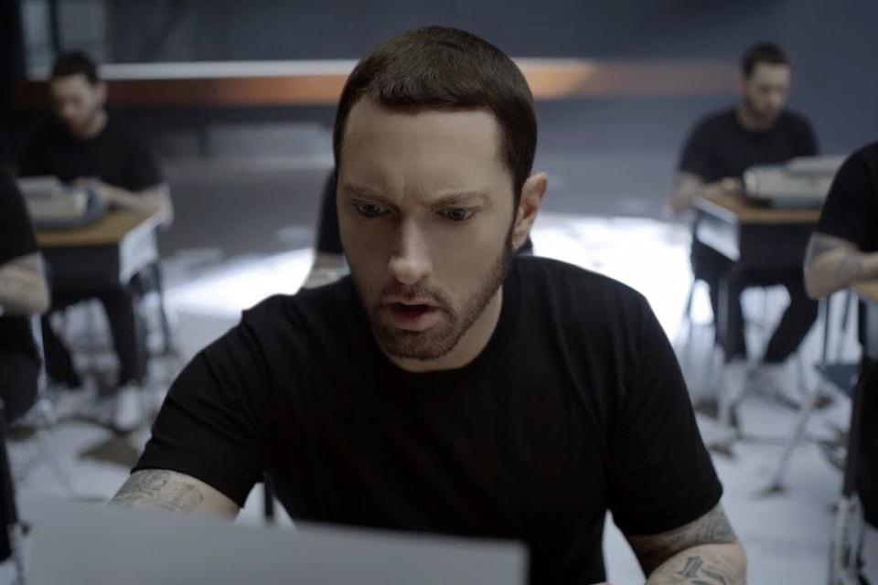Eminem Teases