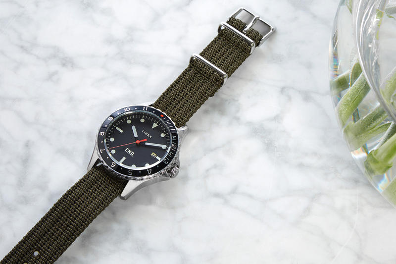 Timex x END. Navi Ocean Project 01 Watchmaker