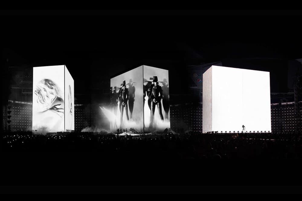 """Es Devlin Kanye West Beyonce Louis Vuitton SSENSE """"ROOM 2022"""" Art Basel Miami Beach"""