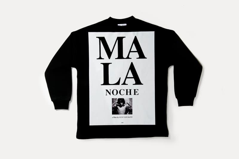 Études Studios Gus Van Sant 'Mala Noche' Sweatshirt Collaboration Oversized