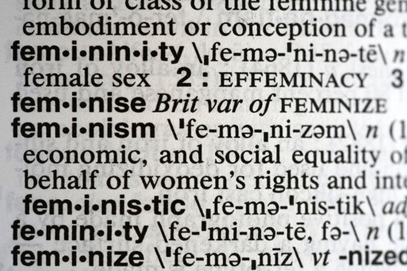 Feminism Merriam Webster 2017 Word of the Year Noah Search Spike complicit recuse empathy dotard syzygy gyro federalism hurricane gaffe