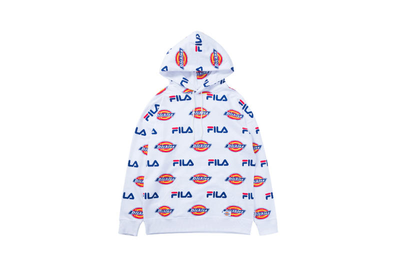 FILA x Dickies Collaborative Capsule Collection Drop Release Japan Exclusive 2017 December Drop Release Branding
