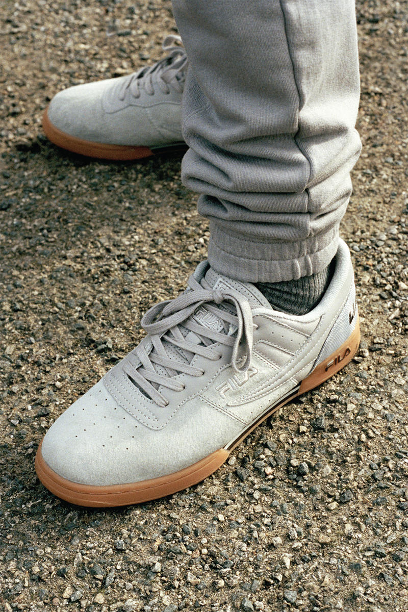 Liam Hodges FILA Spring/Summer 2018 Pierluigi Rolando Original Fitness Sneaker