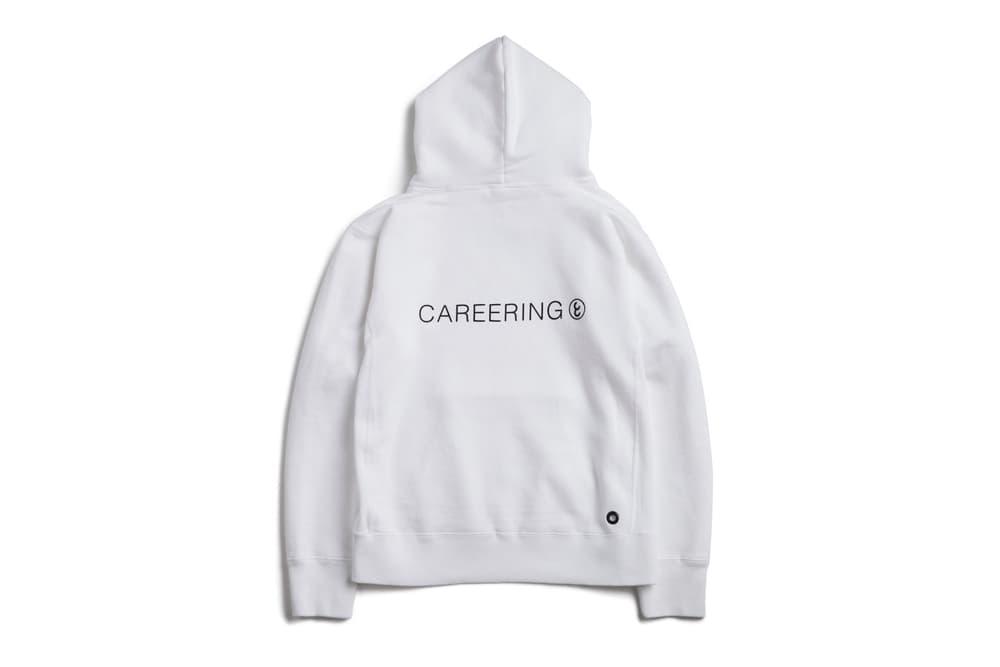 fragment design CAREERING RING Hoodie Sweatshirt Black White 2017 December Release Date Info