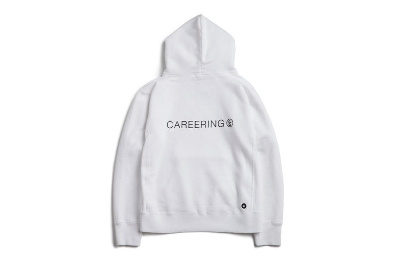 fragment design CAREERING RING Hoodie Sweatshirt Black White 2017 December Release Date Info