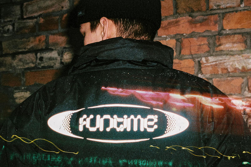 FUN TIME lookbook Event Horizon Summer 2017 rave techno Berlin warehouse