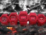 """G-Shock Celebrates 35th Anniversary With """"Red Out"""" Collection"""