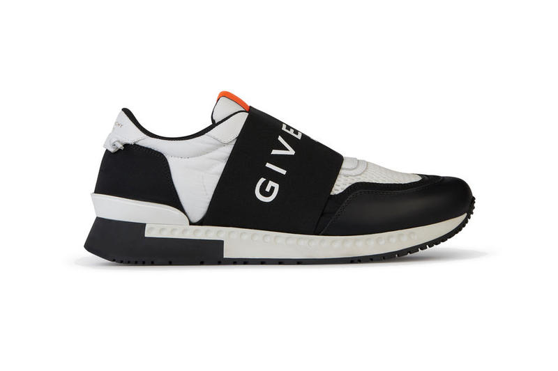 4c4c6322780a Givenchy Sneakers Oversized Large Branding Logo Elastic Strap slip on luxury