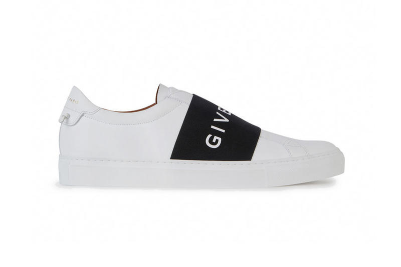 Givenchy Sneakers Oversized Large Branding Logo Elastic Strap slip on luxury