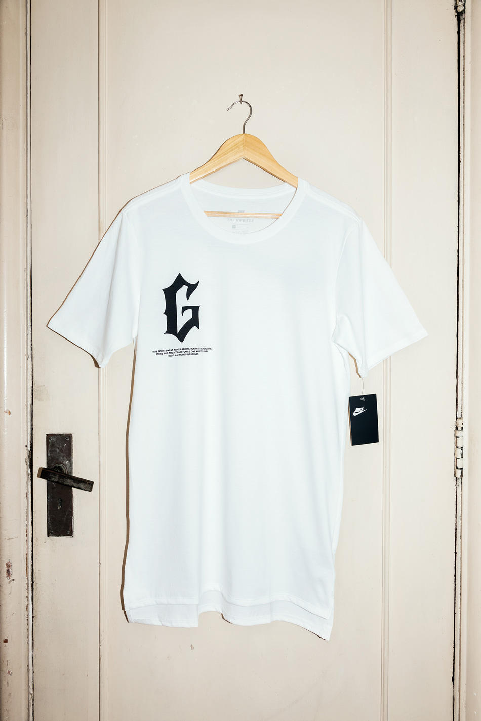 Guadalupe x Nike Air Force 1 Anniversary Tees 35 Years Uptowns
