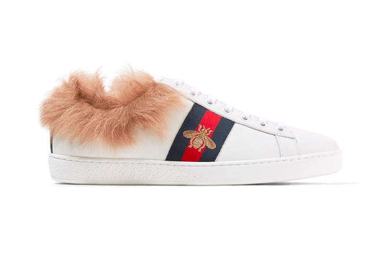 Gucci Ace Sneaker Fur Lining Lamb Low top Purchase
