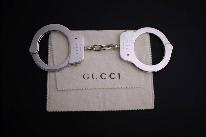 Gucci Silver tom ford Handcuffs Grailed 1998 65000 Sixty Five Thousand USD Dollars Sale Vintage Solid Accessory