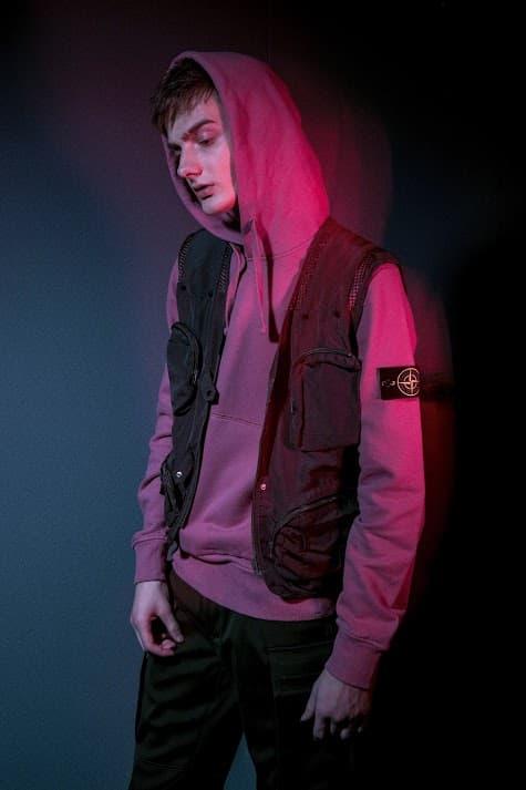 HBX Stone Island Pop-Up Hong Kong Nylon Metal Flock Hooded Jacket Garment Dyed Crinkle Reps Nylon Bomber Vans Converse Nike Jordan Brand