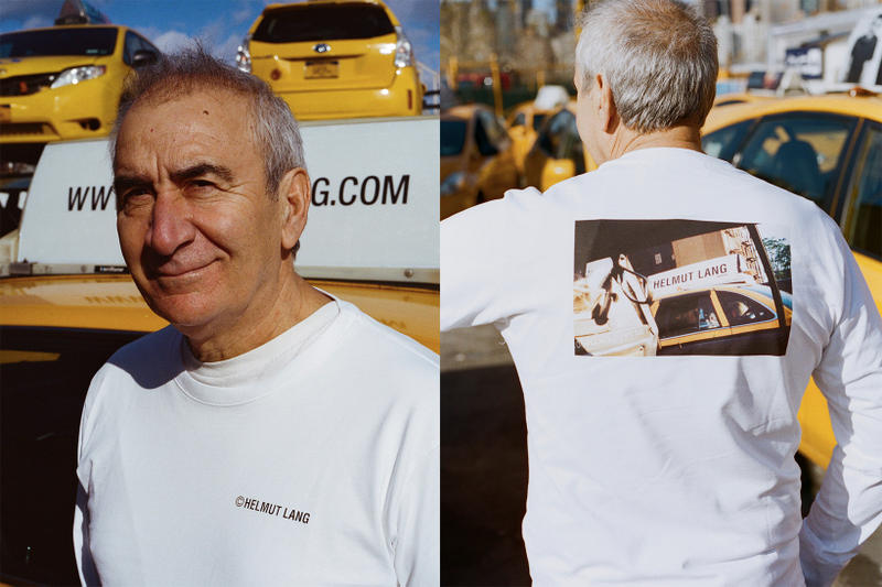 Helmut Lang Taxi Project 1998 Advertisement Capsule Collection