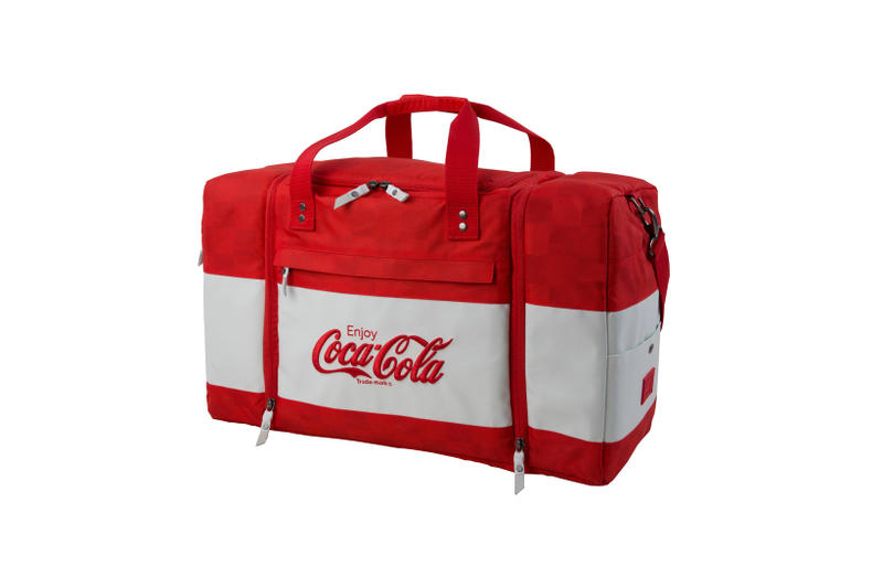 HEX & Coca-Cola Launch Sneaker Bag Collection limited edition holiday gift guide backpack duffle overnight bag fanny pack sling waist bag bum bag