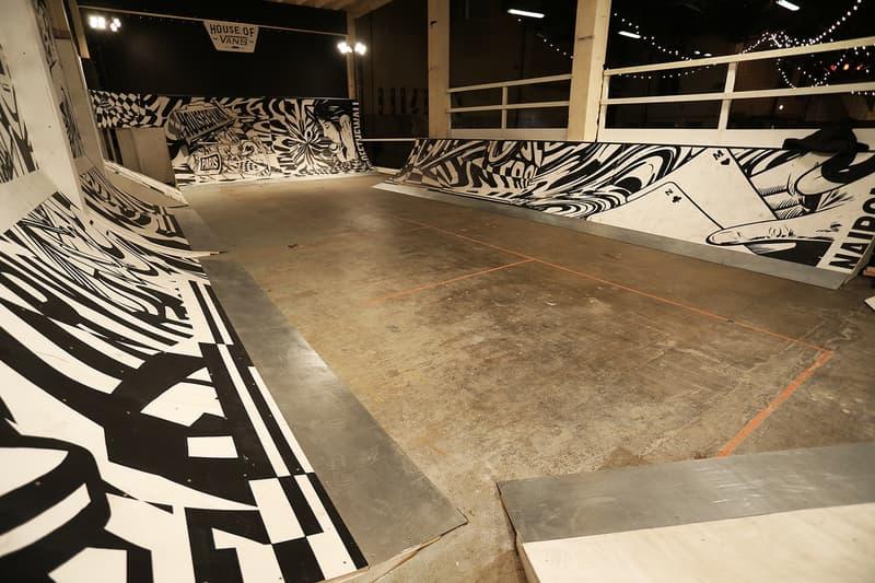 House of Vans Paris Exhibition Workshops Skateboard Ramps Michael Burnett