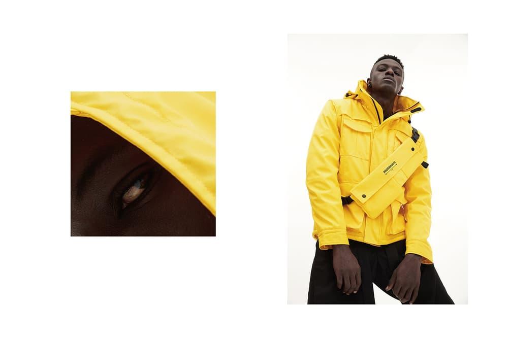 INGENIOUS M 65 Jacket Detachable Waist Bag Yellow Black 2017 Fall Winter December Release Date Info