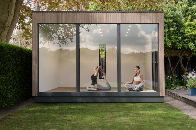 Jalil Peraza Face Modules Concept Pop-up Prefabricated Structure commerce design