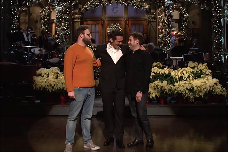Watch James Franco s  SNL  Opening Monologue 6dc3880169a47
