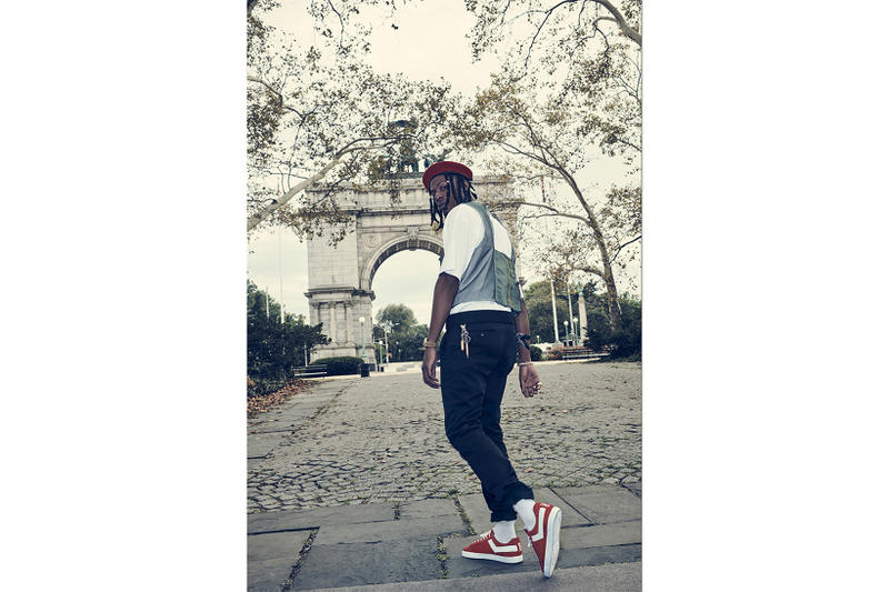 Joey Badass PONY First Ever Creative Director Product of New York shoes sneakers brooklyn pro era