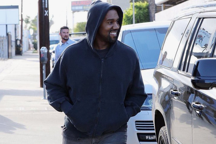 1787c703c0ad6 Kanye West Steps out in Never-Before-Seen adidas YEEZY BOOST 700 Wave  Runners