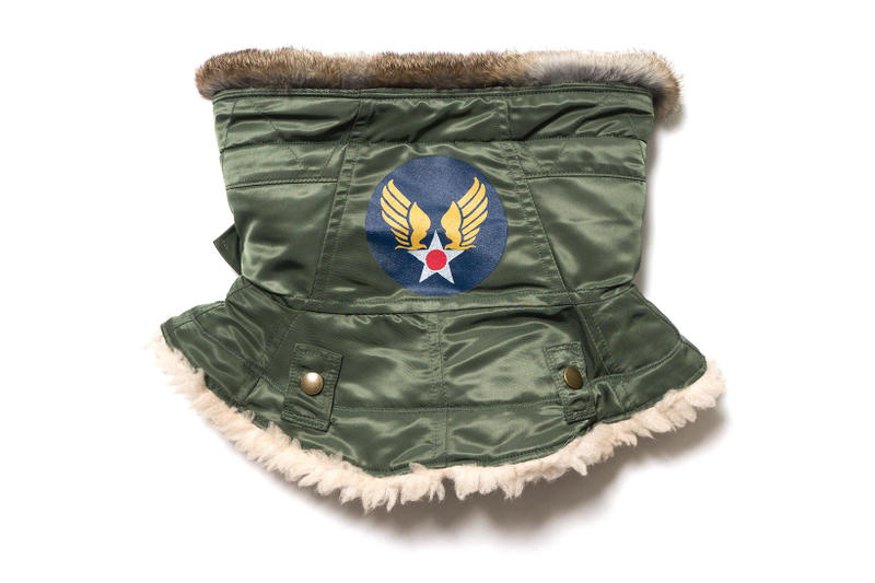 KAPITAL Air Force Twill N 3B Military Snood Green 2017 Fall Winter December Release Date Info HAVEN