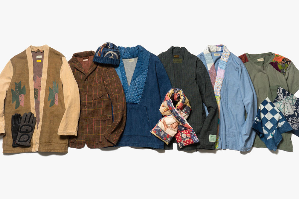 KAPITAL IDG x IDG Denim Fall Winter 2017 Collection Jackets Shirts Hats Pants Scarves Bags Gloves