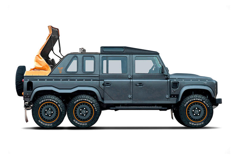 Kahn Flying Huntsman 6x6 Soft Top Truck