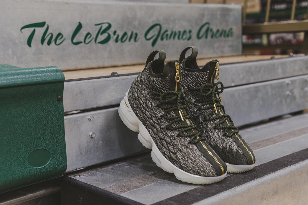 KITH Nike LeBron XV SVSM James Ronnie Fieg Saint Vincent Saint Marys Limited Edition Exclusive Screening Sneakers Shoes Footwear