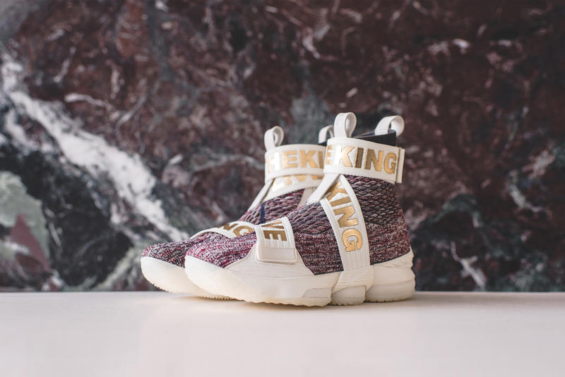 KITH Nike LeBron XV 15 Collaboration Performance Lifestyle 2017 December 30 Release Date Drop Info Sneakers Shoe